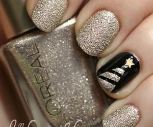 nails, christmas, and nail art image