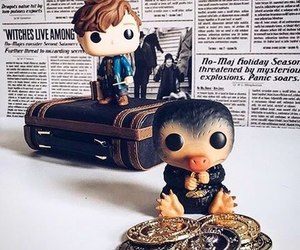 fantastic beasts, harry potter, and wizard image