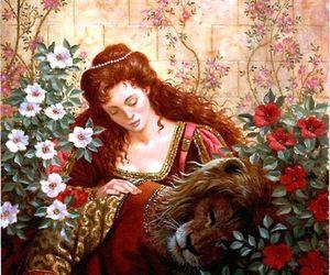 beast, beauty, and fairytale image