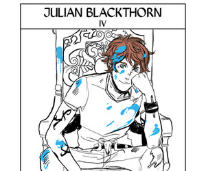 julian blackthorn, shadowhunters, and blackthorn image