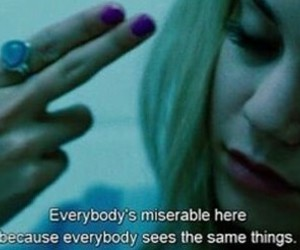spring breakers, quotes, and miserable image