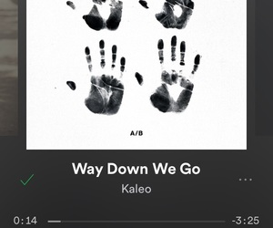 kaleo and way down we go image