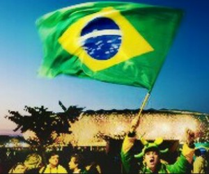 flag, worldcup 2014, and brasil image