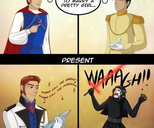 disney, star wars, and funny image