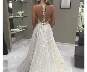 bride, dress, and lovely image