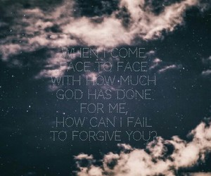 forgiveness, god, and quote image