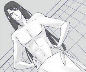 anime, Hot, and neji hyuga image