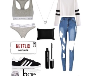 bae, outfit, and Polyvore image