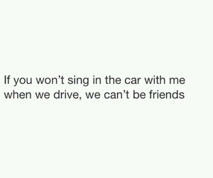 car, true, and friends image