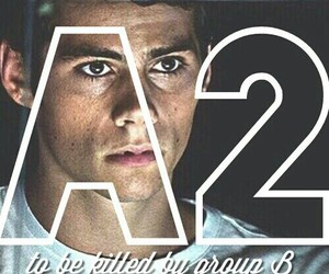 thomas, the maze runner, and dylan obrien image