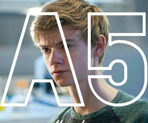newt, the maze runner, and a5 image