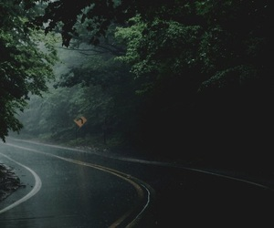 green, lost, and road image