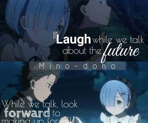 anime, quote, and re:zero image