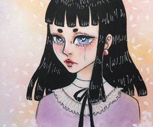 anime, pastel, and sparkly image