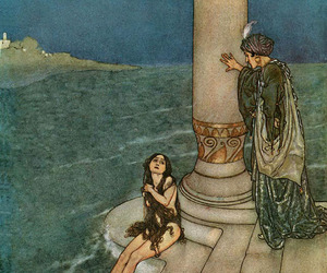 fairy tale, illustration, and orientalism image