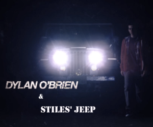 jeep, teen wolf, and dob image