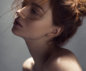 beautiful, red hair, and beauty image