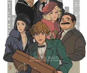 fantastic beasts and harry potter image