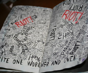 riot and wreck this journal image
