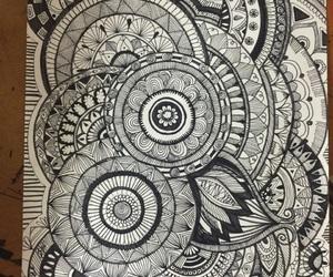 art and zentangle art image