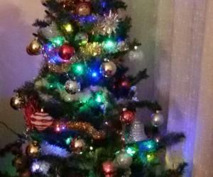 christmas, tree, and albero di natale image