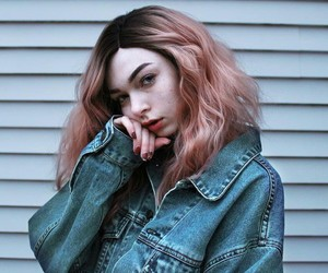 pink hair and hallucineon image