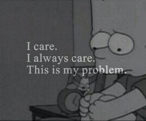 problem, care, and sad image