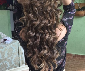 cabelo, ombrehair, and love image