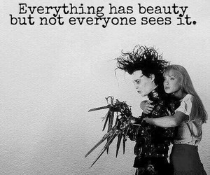 edward scissorhands, film, and quotes image