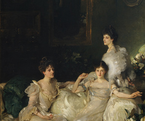 art, painting, and John Singer Sargent image
