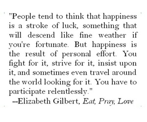 quote, love, and eat pray love image
