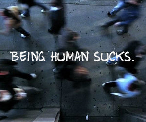 antisocial, depression, and humans image