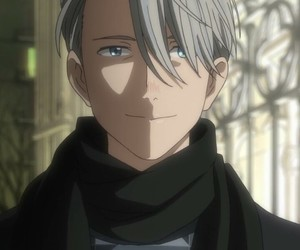 anime, love, and victor image