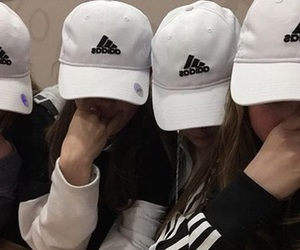 adidas and girls image