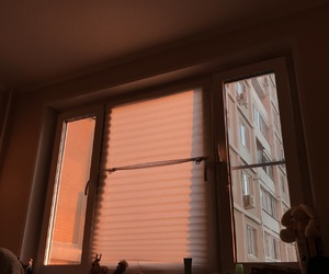 blinds, curtains, and window image