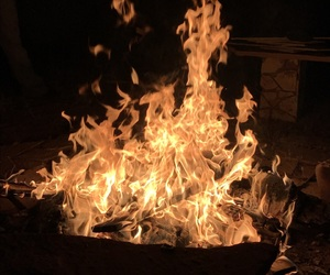 thanksgivings fire. image