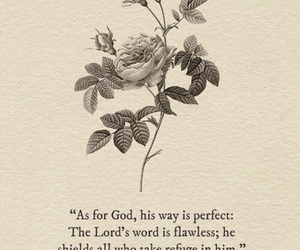 god, psalm, and love image