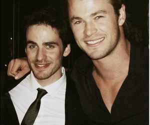 chris hemsworth and colin o'donoghue image
