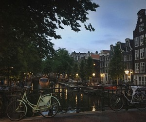 amsterdam, place, and love image