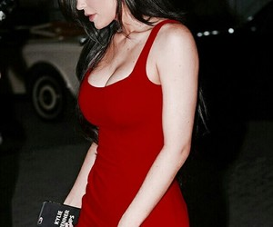 kylie jenner, red, and style image
