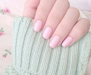 pink, pretty, and nails image
