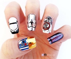 inspired, jeealee, and nail art image