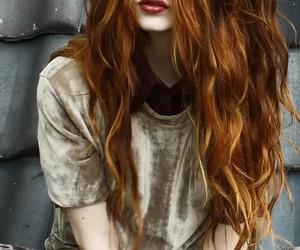 redhead, nadia esra, and hair image
