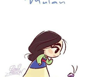 disney, mulan, and drawing image