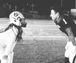 american football and relationship goals image