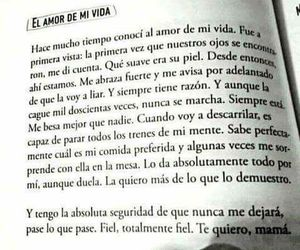 amor, frases, and book image