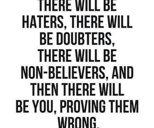 quote, haters, and life image