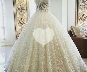 dress, love, and bridal image