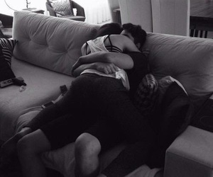 boyfriend, hug, and kiss image