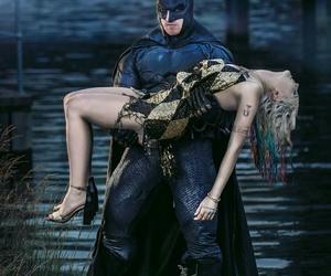batman, comic, and harley quinn image